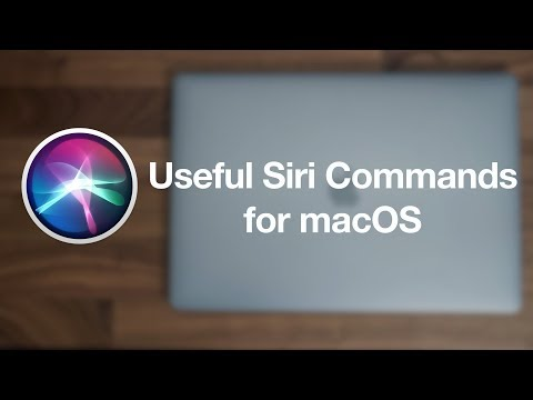Useful Siri Commands for macOS