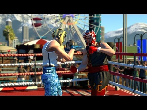 Russian Lets Play - Sports Champions 2 : Boxing ( Праздник спорта 2: Бокс )