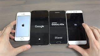 iPhone SE vs. Samsung Galaxy A5 vs. Xiaomi Mi5 vs. Nexus 5X - Which Is Faster?