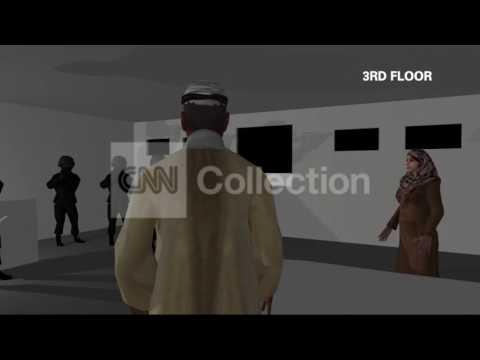 FILE:OSAMA BIN LADEN RAID-ANIMATION