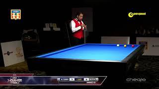 #1 Miguel TORRES vs Carlos BAZO / 2018 USBA Three-Cushion Billiard National Championship