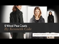 9 Wool Pea Coats By Kenneth Cole Amazon Fashion 2017 Collection