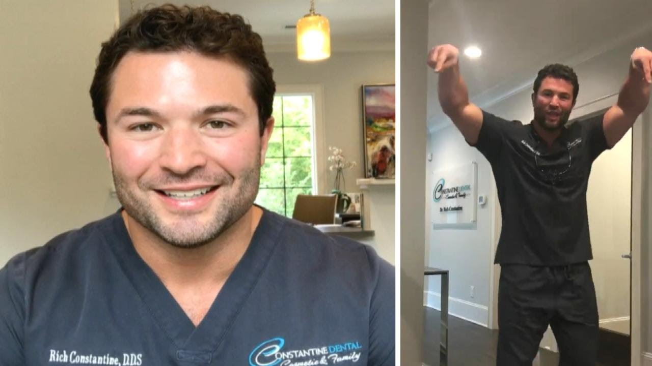 Hunky South Carolina Dentist Melts Hearts With 'Shiggy Challenge' Dance  Moves