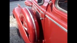 1937 BUICK SPECIAL 8 COUPE - NOTICEABLE CHANGES THIS YEAR