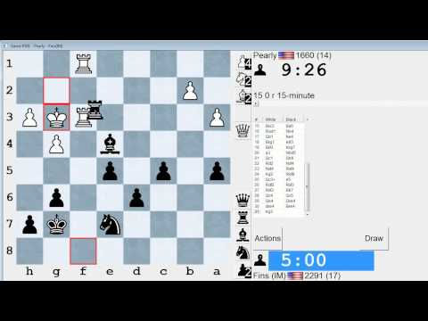 Standard Chess #103: Pearly vs. IM Bartholomew (Closed Sicilian)