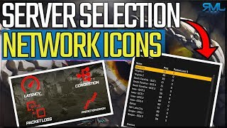 How to Switch Servers in Apex Legends - Network Performance Icons