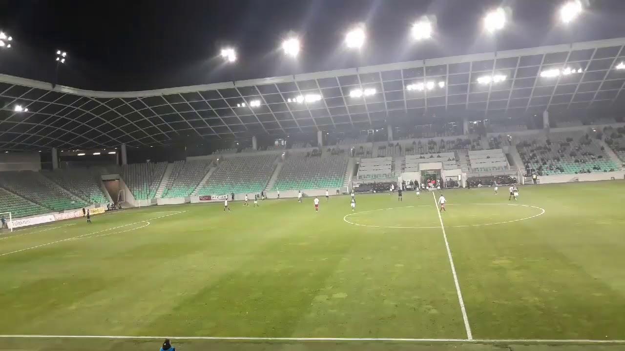 NK Olimpija Ljubljana proti NK Triglav Kranj-Zadnje minute v prvem polčasu