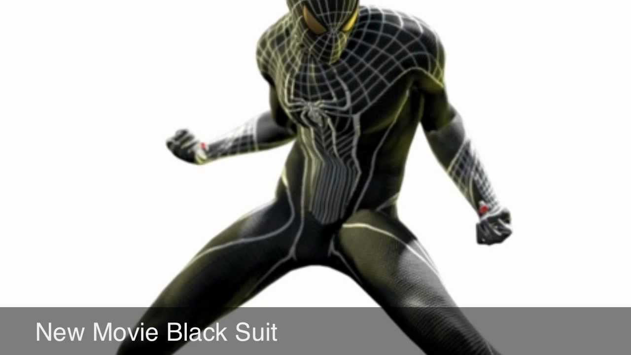 The Amazing Spider-Man Game Alternate Costumes UPDATE Movie Black ...