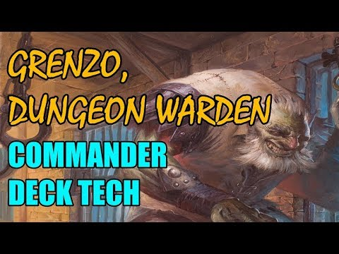 Commander Deck Tech: Grenzo, Dungeon Warden