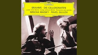 Brahms: Sonata for Cello and Piano No.2 in F, Op.99 - 2. Adagio affettuoso