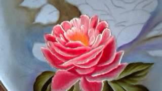 Pintando caminho de rosas
