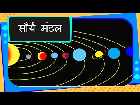 science solar system and its planets animation hindi  science solar system and its planets animation hindi