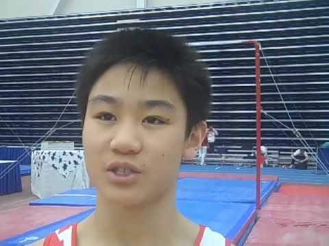 Robert Watson - Interview - 2010 Canadian Gymnastics Championships