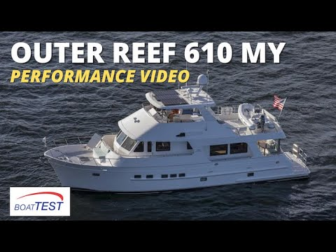 Outer Reef 610 Motoryacht (2019-) Test Video - By BoatTEST com