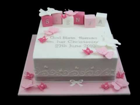 Christening baptism first holy communion cakes inspired by for 1st holy communion cake decoration ideas
