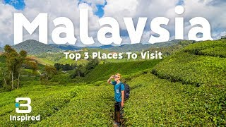 Malaysia TOP 3 PLACES TO VISIT | Barbster360 Travel