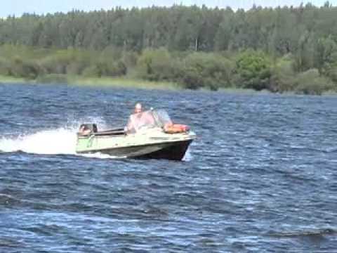 моторная лодка обь 1 видео