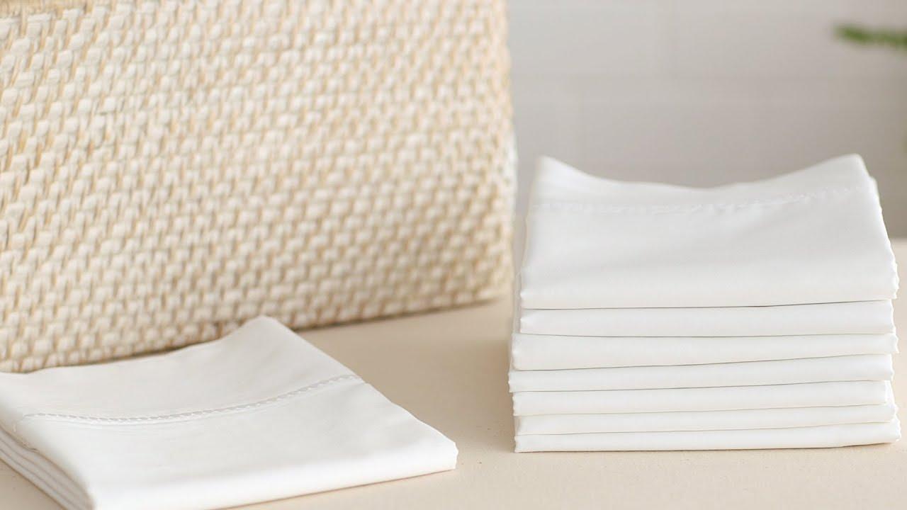 pillow linen envelope pillowcases set products fog bedding cases parachute closure venice