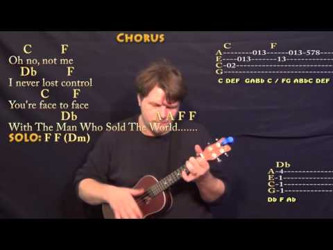 Man Who Sold The World (David Bowie) Ukulele Cover Lesson with Chords/Lyrics