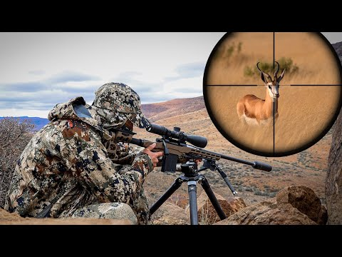 Hunting Plains Game In Africa