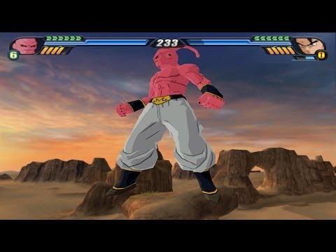 Super Buu (Buutenks and Kid Buu transformations) Vs Ultimate Gohan (DBZ Tenkaichi 3 Mod)