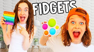 WHO CAN BUY THE BEST FIDGET Challenge w/The Norris Nuts