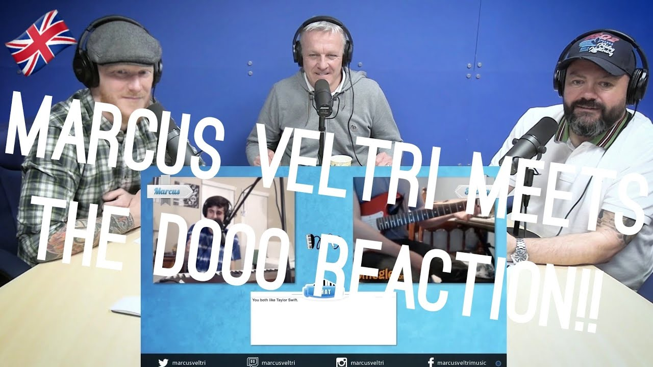 Marcus Veltri Meets The Dooo REACTION!!   OFFICE BLOKES REACT!!