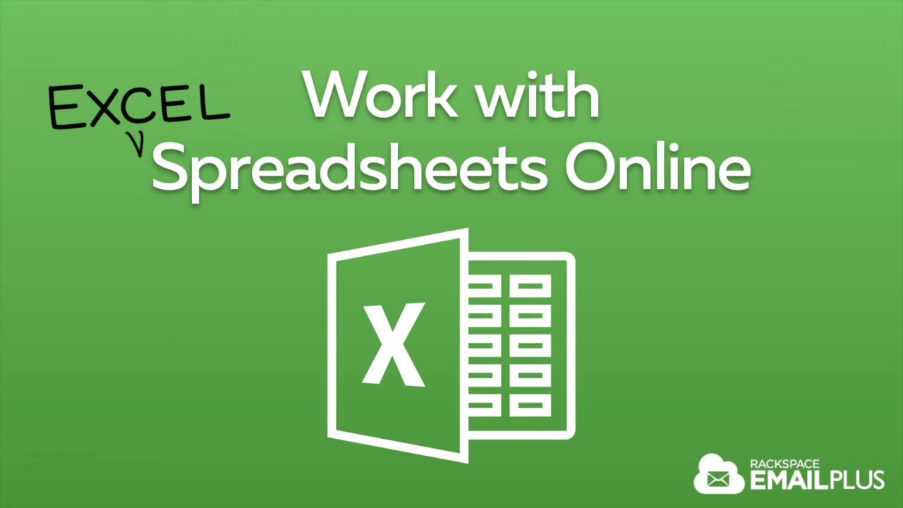Work with excel spreadsheets online with rackspace cloud drive youtube work with excel spreadsheets online with rackspace cloud drive ccuart Gallery
