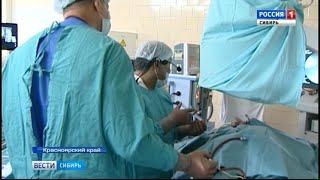 Красноярские хирурги провели бескровную операцию по удалению аденомы предстательной железы