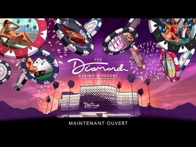 GTA Online: Le Diamond Casino & Hôtel est désormais ouvert