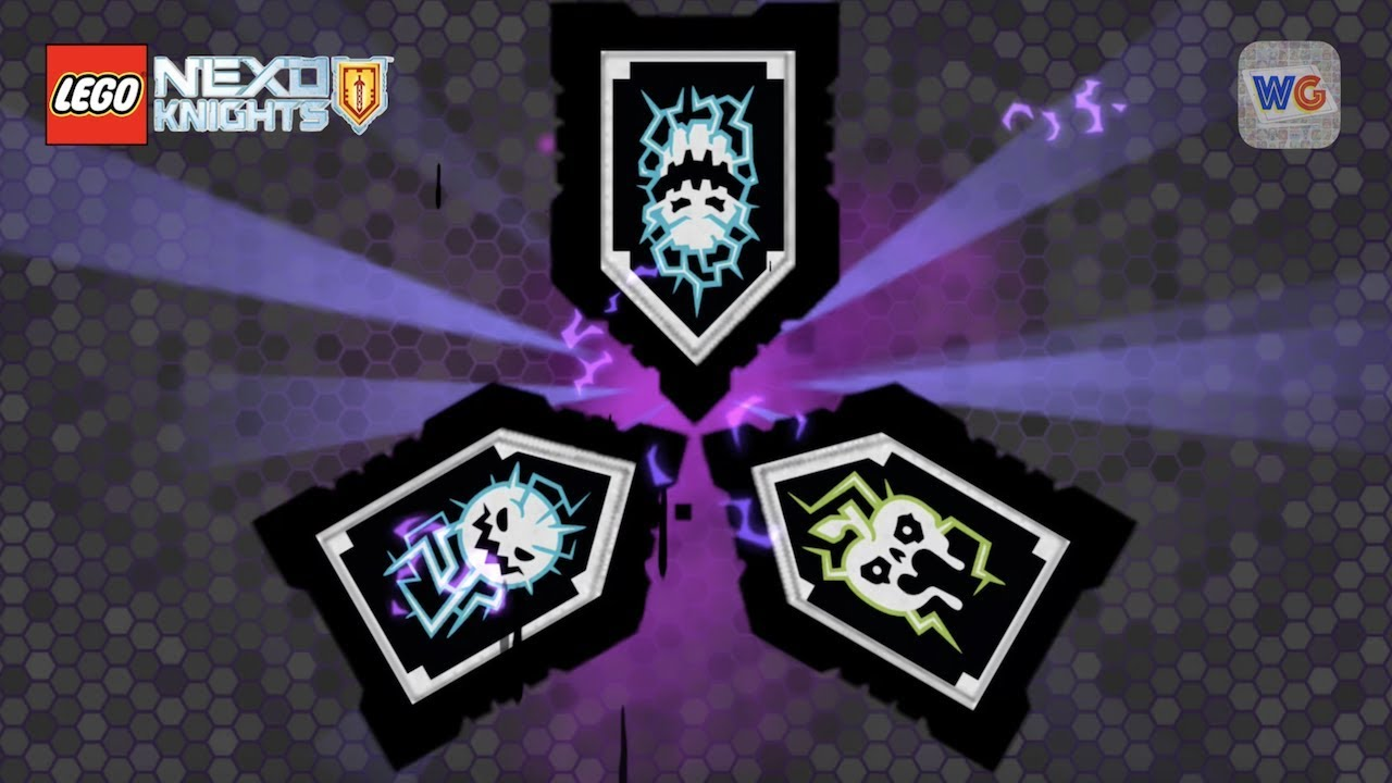 Scannable Nexo Knights Forbidden Powers