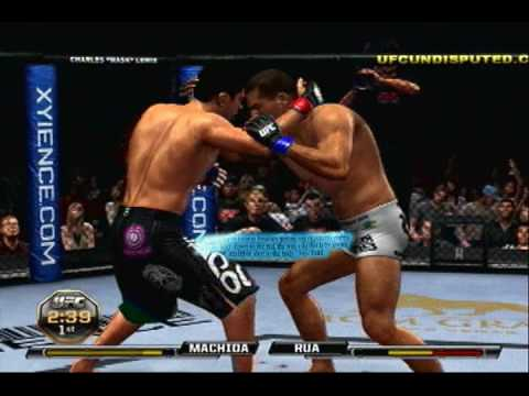 UFC Undisputed 2010 Submission Tutorial / Commentary