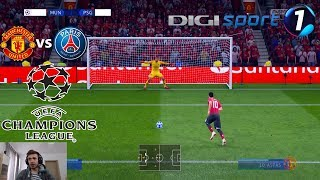 Meci Infernal Pe Teatrul Viselor - Manchester United vs PSG In UCL - FIFA 19 Cariera Cu PSG #14