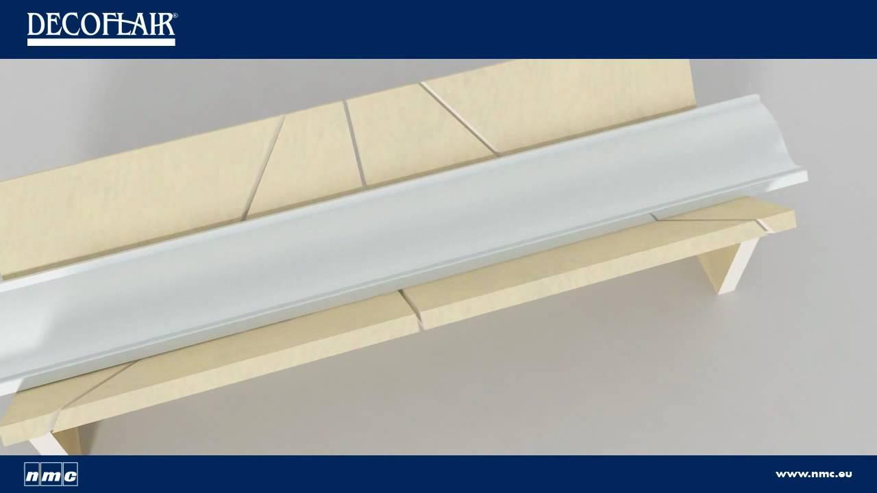 Colocar molduras en el techo doovi - Molduras de techo ...