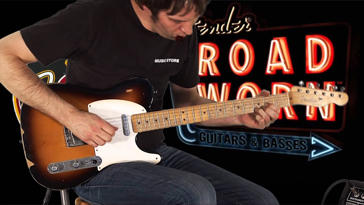 Fender Road Worn 50s Telecaster Youtube