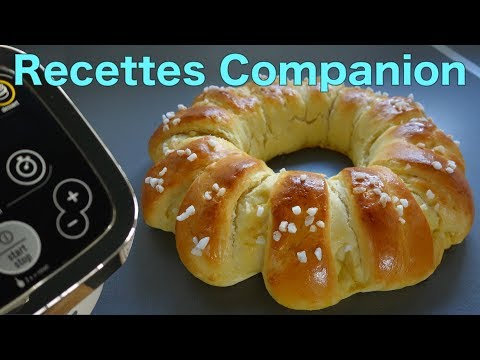 recettes-companion-de-brice---brioche-couronne-à-la-mie-filante