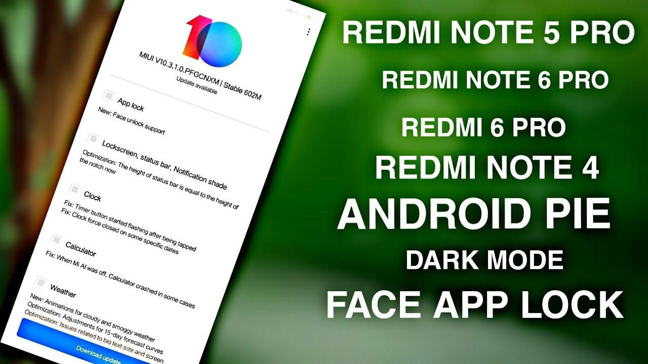 14 15 MB] MIUI 10 3 1 0 Update for Redmi Note 5 Pro | Redmi