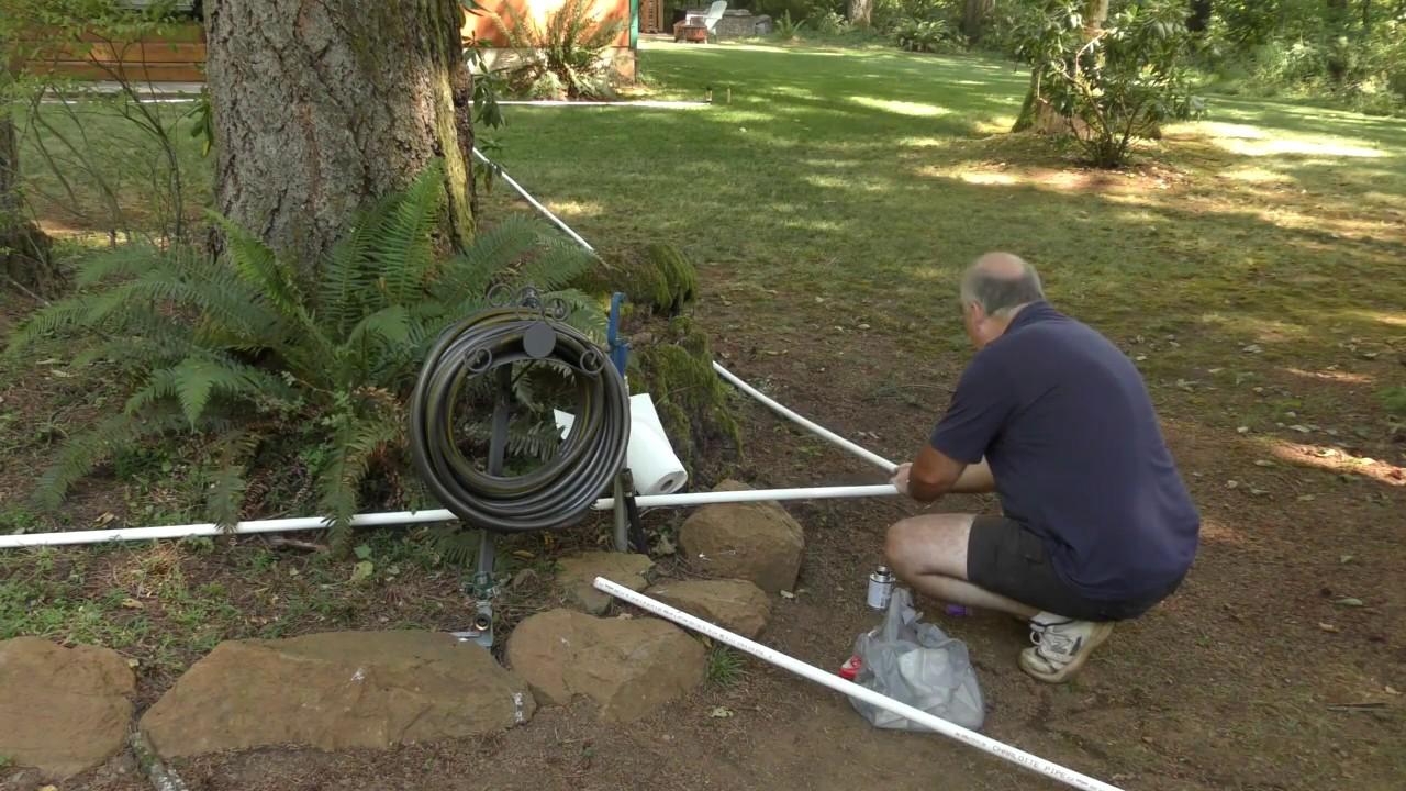 Installing A Lawn Sprinkler System