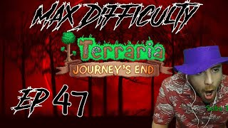 Badger Tries Lava Fisнing - Terraria Hardcore MasterMode For The Worthy Challenge Ep. 47