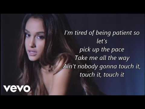 Ariana Grande - Touch It (Lyrics)
