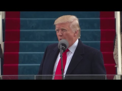 President Donald Trump Inauguration: 'We will be protected by God'