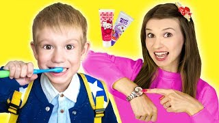 Put On Your Shoes Song | Tim Pretend Play Morning Routine Brush Teeth - Nursery Rhymes & Kids Songs