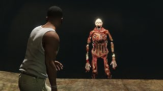 After 5 Years I've Found The Sewer Monster in GTA 5! (Scary Easter Egg)