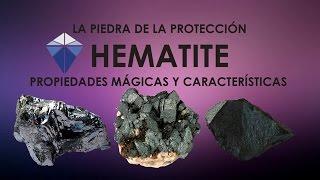 HEMATITE [Propiedades mágicas y características] Mineral