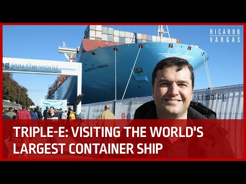 Inside Triple-E: The World's Largest Ship