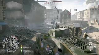 Battlefield 1 - Conquest - Amiens - Tank + Medic Gameplay