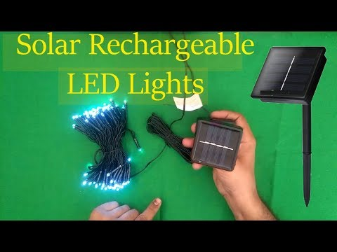 Solar Led Light for home| solar lights for Home and Garden | led Christmas lights Free Energy