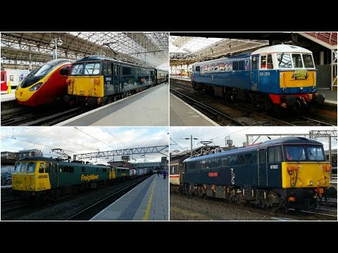 Classic AC Electrics - 2016 | Class 86 & 87 | Thank you for a great year!