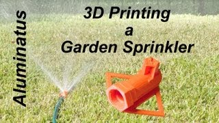 Repeat youtube video 3D Printing a Garden Sprinkler