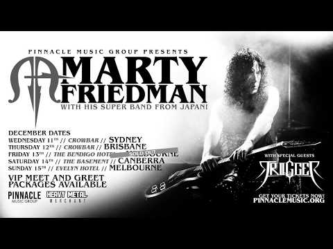 Marty Friedman talks Australian tour, collaborations, his amazing band, Japanese metal and more!